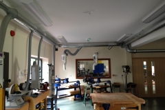School Workshop Dust & Chip Extraction System Install