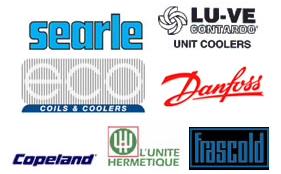 Our Refrigeration Equipment Suppliers Include: