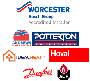 Our Heating Equipment Suppliers Include: